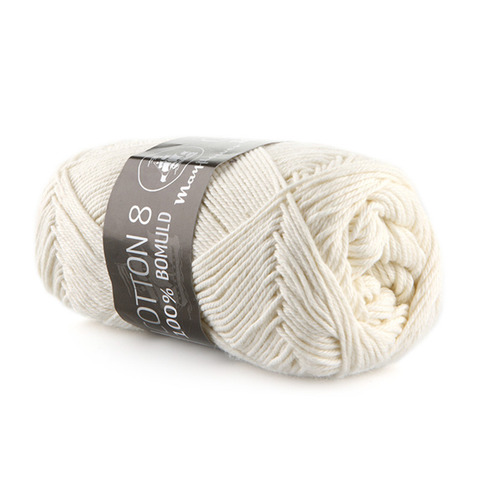 Mayflower Cotton 8/4 - Råhvid 1401