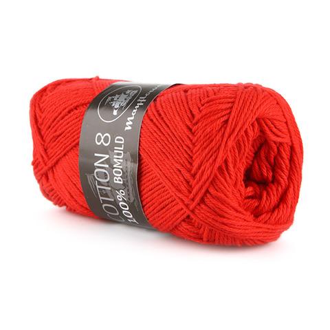 Mayflower Cotton 8/4 - Rød 1411