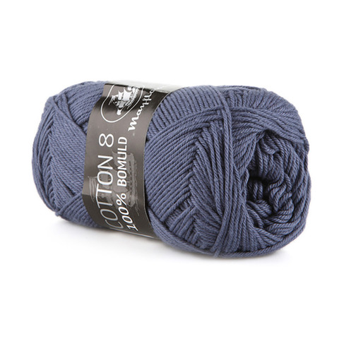 Mayflower Cotton 8/4 - Jeansblå 1421