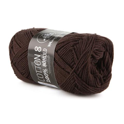 Mayflower Cotton 8/4 - Mørkebrun 1436