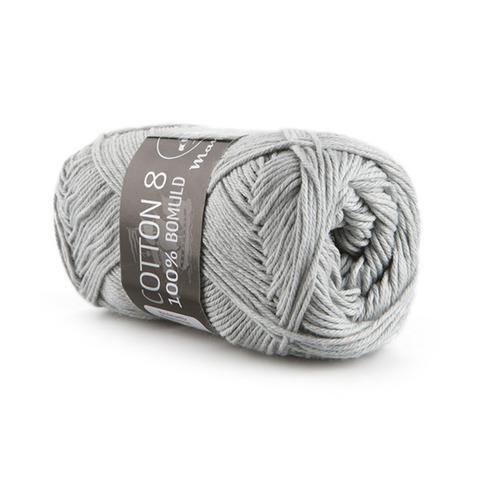 Mayflower Cotton 8/4 - Lysegrå 1440