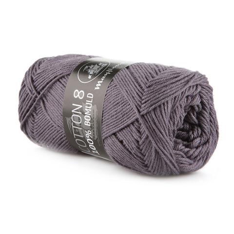 Mayflower Cotton 8/4 - Mørk Grålilla 1441