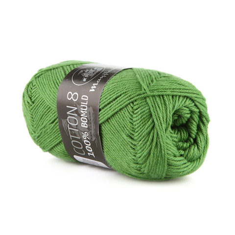 Mayflower Cotton 8/4 - Græsgrøn 1476