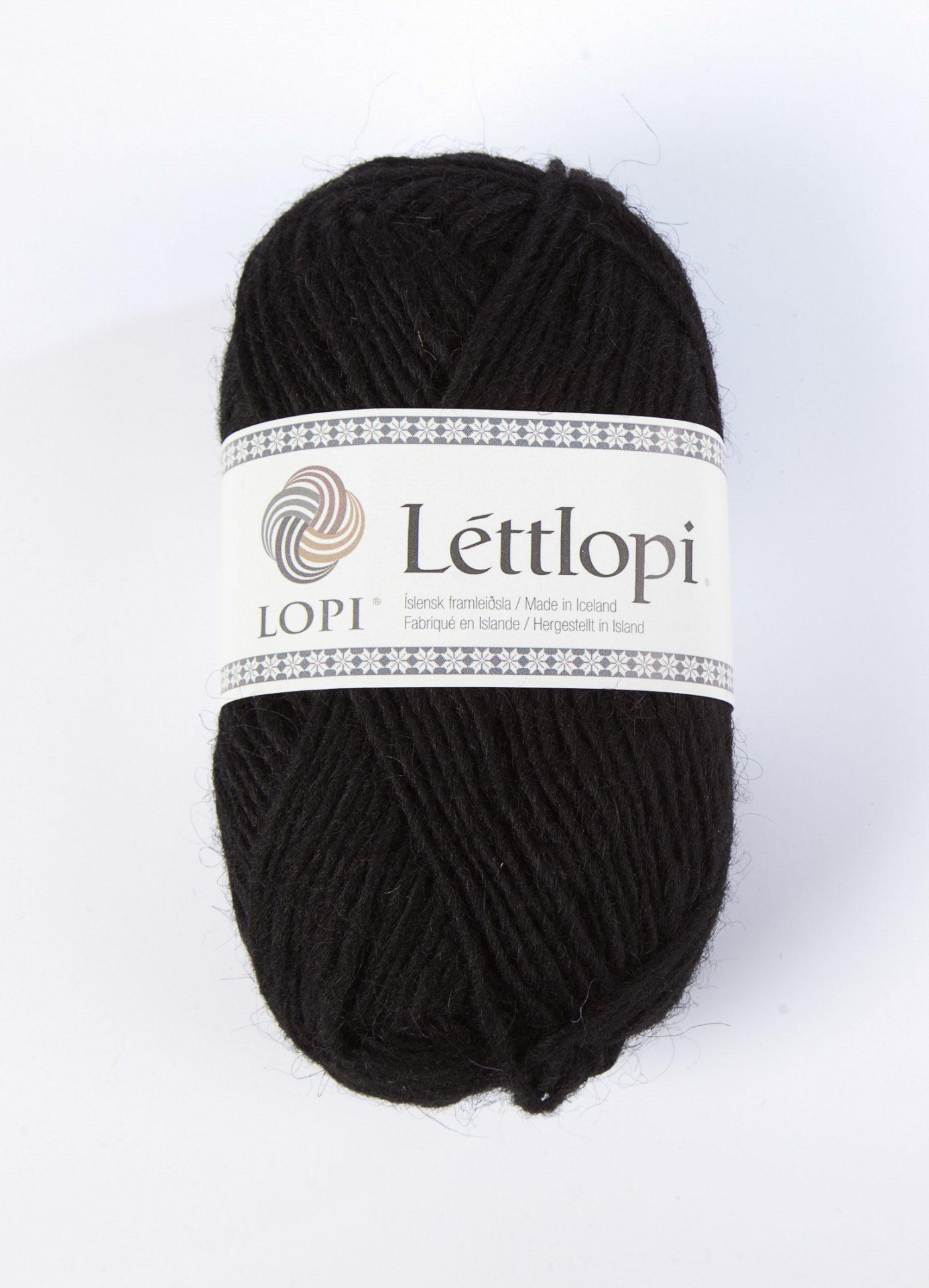 Istex Lettlopi - Sort 0059