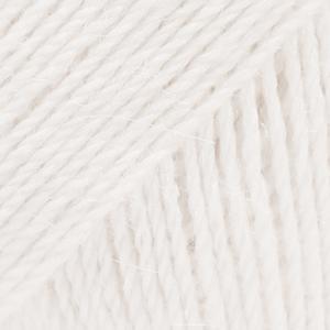 Drops Alpaca - Hvid 0101