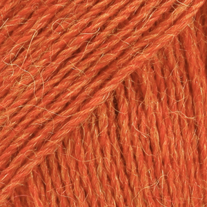 Drops Alpaca - Orangemeleret 2925