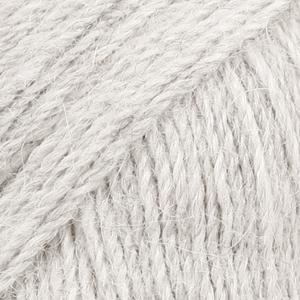 Drops Alpaca – Lys Perlegrå 9020
